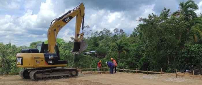 Avanza construcción del complejo policial en Siuna Managua. Radio La Primerísima
