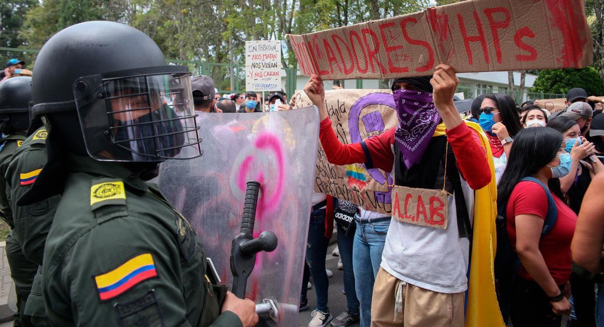 Continúan las protestas en Colombia RTVE