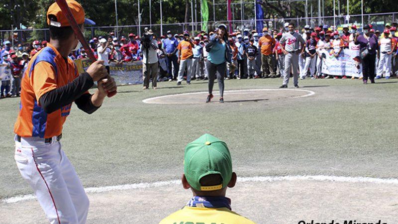 Inauguran liga de béisbol juvenil en Managua Managua. Radio La Primerísima