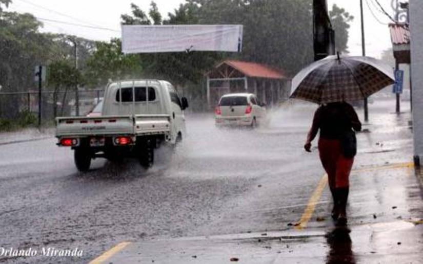 Prevén continuidad de las lluvias dispersas Managua. Radio La Primerísima