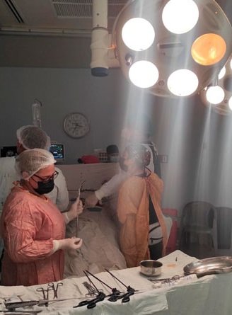 Desarrollan jornada quirúrgica en el Hospital Manolo Morales Managua. Radio La Primerísima