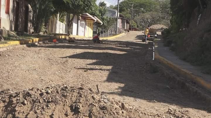 Inicia nuevo proyecto de calles adoquinadas en Matiguás Managua. Radio La Primerísima