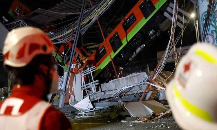 Incrementan a 23 muertos por accidente del Metro en México Ciudad México. Prensa Latina