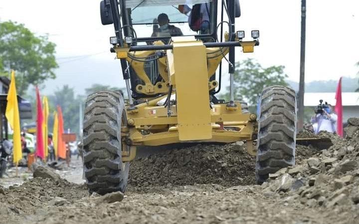 Inicia construcción de carretera Rosita-Bonanza Managua. Radio La Primerísima