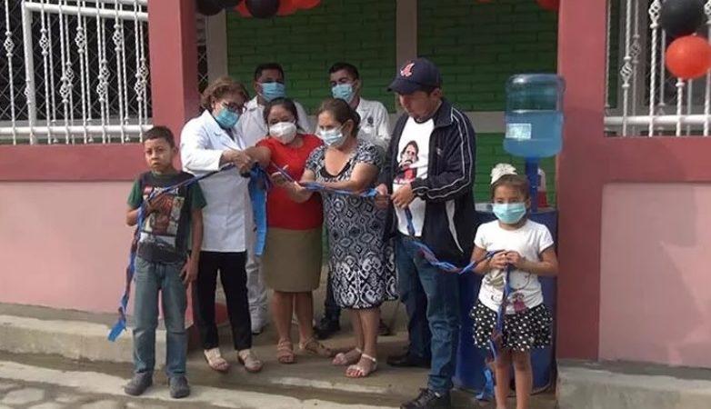 Remodelan centro de salud en Mozonte Managua. Radio La Primerísima