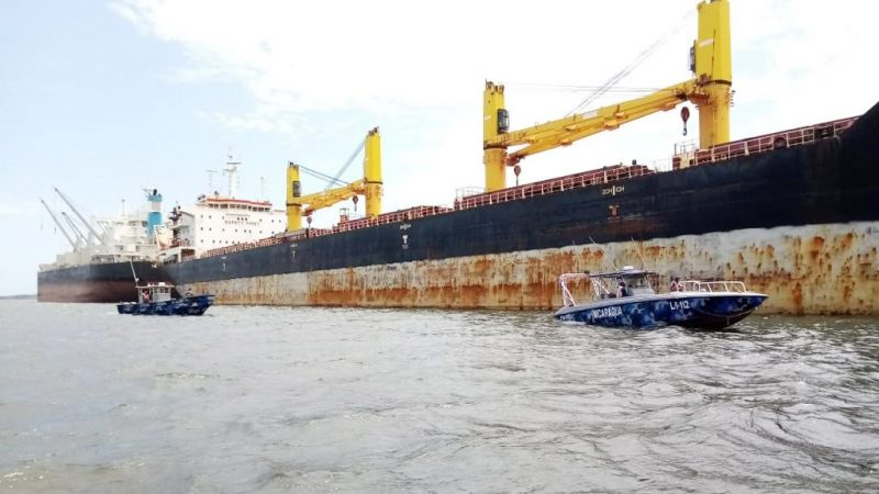 Ejército protege la flota pesquera Managua. Radio La Primerísima