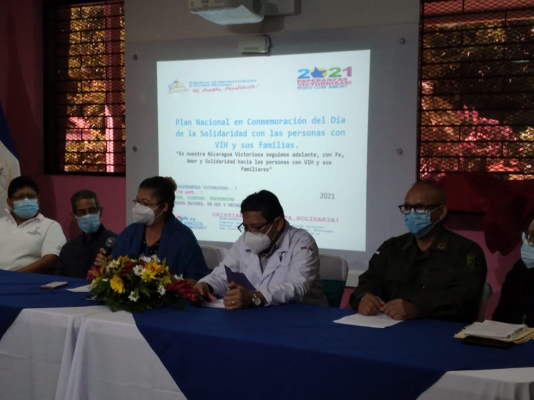 MINSA reafirma compromiso con portadores del VIH y sus familias Managua. Por Libeth González/Radio La Primerísima