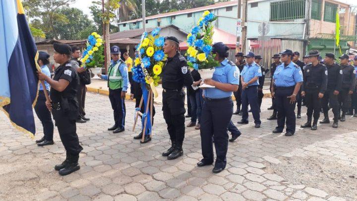 Recuerdan a policías asesinados en Bluefields Managua. Radio La Primerísima