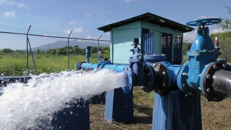 Inauguran pozo de agua en Malpaisillo Managua. Radio La Primerísima