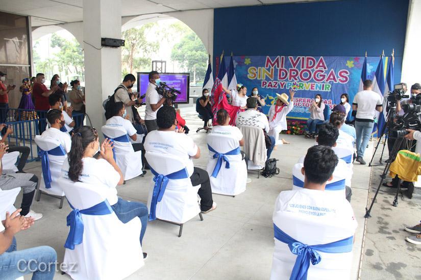 Concurso promueve prevención de consumo de drogas Managua. Radio La Primerísima