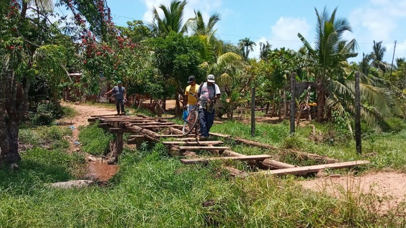 Construirán puente que une a dos barrios en Bilwi Managua. Radio La Primerísima