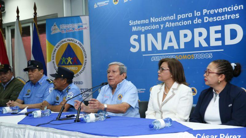 Sinapred registra 1,911 puntos críticos ante llegada del invierno Managua. Radio La Primerísima