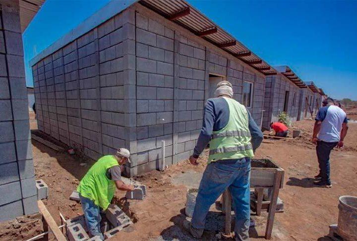 Construcción de viviendas dinamiza empleos