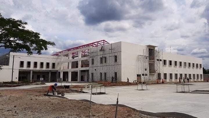 Construcción de hospital departamental de Ocotal a buen ritmo Managua. Radio La Primerísima