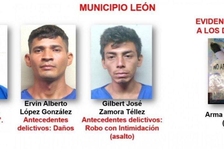 Arrestan a 20 antisociales en León