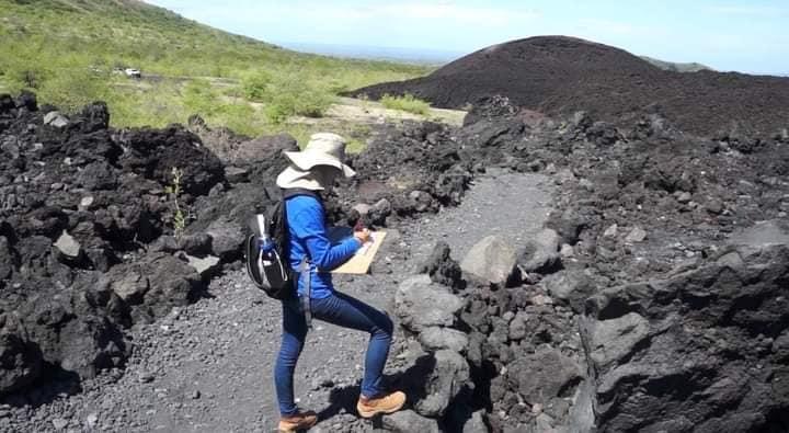 Expertos ubicarán puntos de riesgo en el volcán Cerro Negro Managua. Radio La Primerísima
