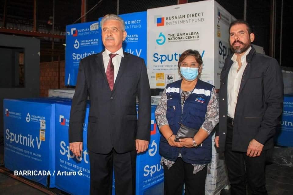 Nicaragua recibe 120 mil dosis de Sputnik V Managua. Radio La Primerísima
