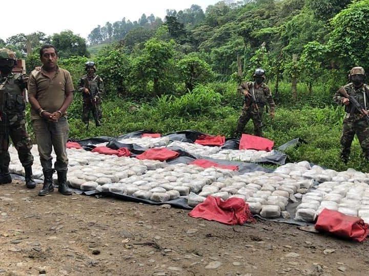 Ocupan más de mil óvulos de marihuana en Jalapa