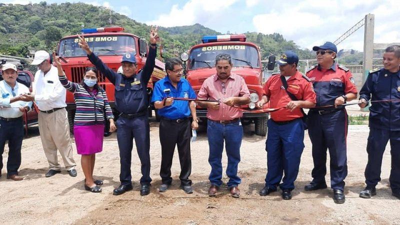 Inauguran estación de bomberos en San Juan de Río Coco Managua. Radio La Primerísima