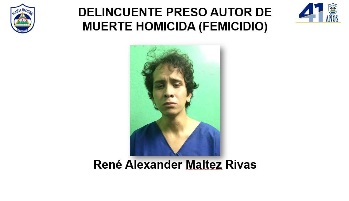 Femicida pasará a los tribunales correspondientes Jerson Dumas/ Radio La Primerísima