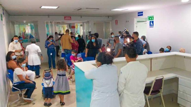 Inauguran remodelación del área de Quimioterapia en hospital La Mascota Managua. Radio La Primerísima