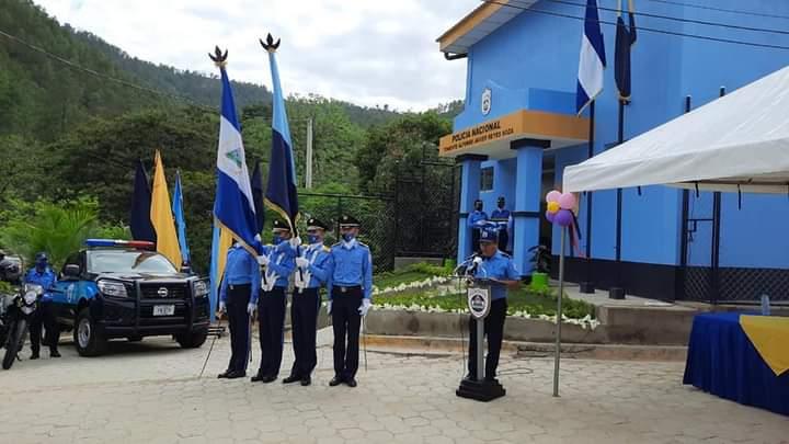 Inauguran estación policial en Dipilto, Nueva Segovia Managua. Radio La Primerísima