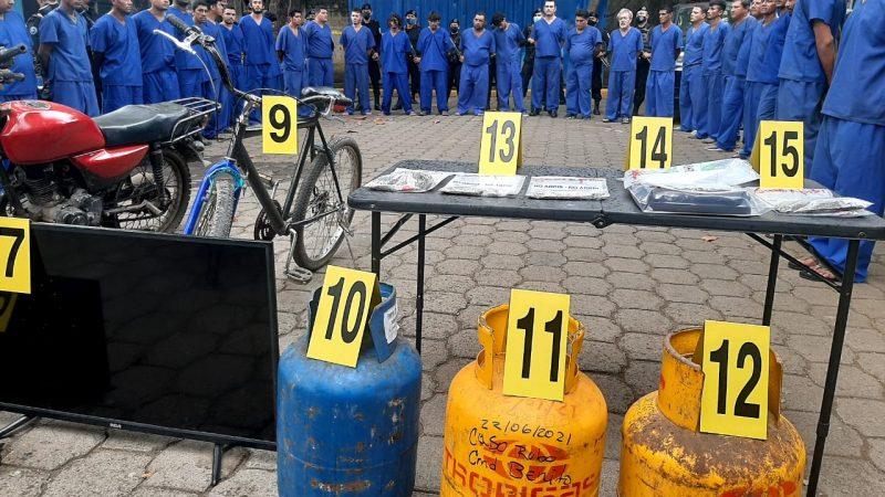 Arrestan a 37 antisociales en León Jerson Dumas/ Radio La Primerísima
