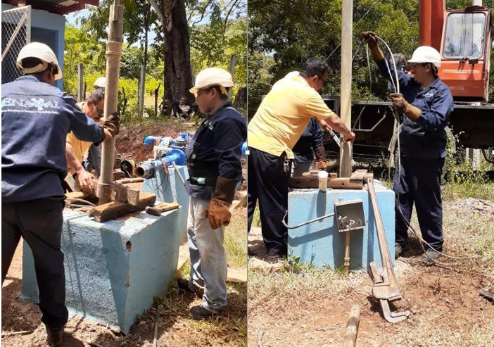 Pobladores de Achuapa con mejor servicio de agua potable Managua. Radio La Primerisima