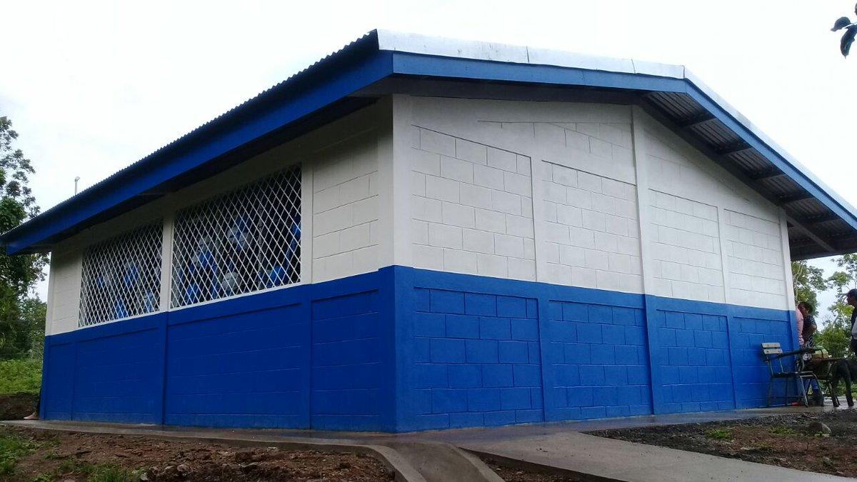 Inauguran aula de clase en El Jícaro Managua. Radio La Primerisima