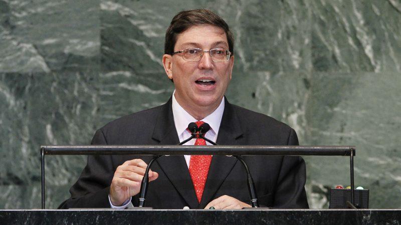 El reclamo de Cuba es que nos dejen en paz Por Bruno Rodríguez Parrilla (*), canciller de Cuba