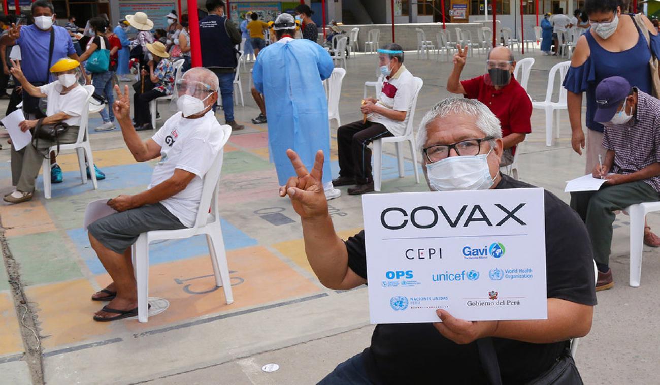 Estados Unidos donará 500 millones de vacunas a mecanismo Covax AFP y Reuters