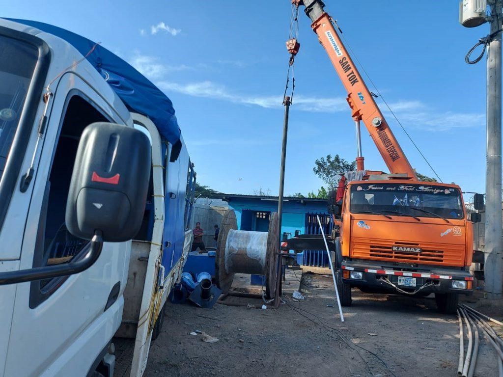 ENACAL finaliza construcción de pozo en Ticuantepe Managua. Radio La Primerísima
