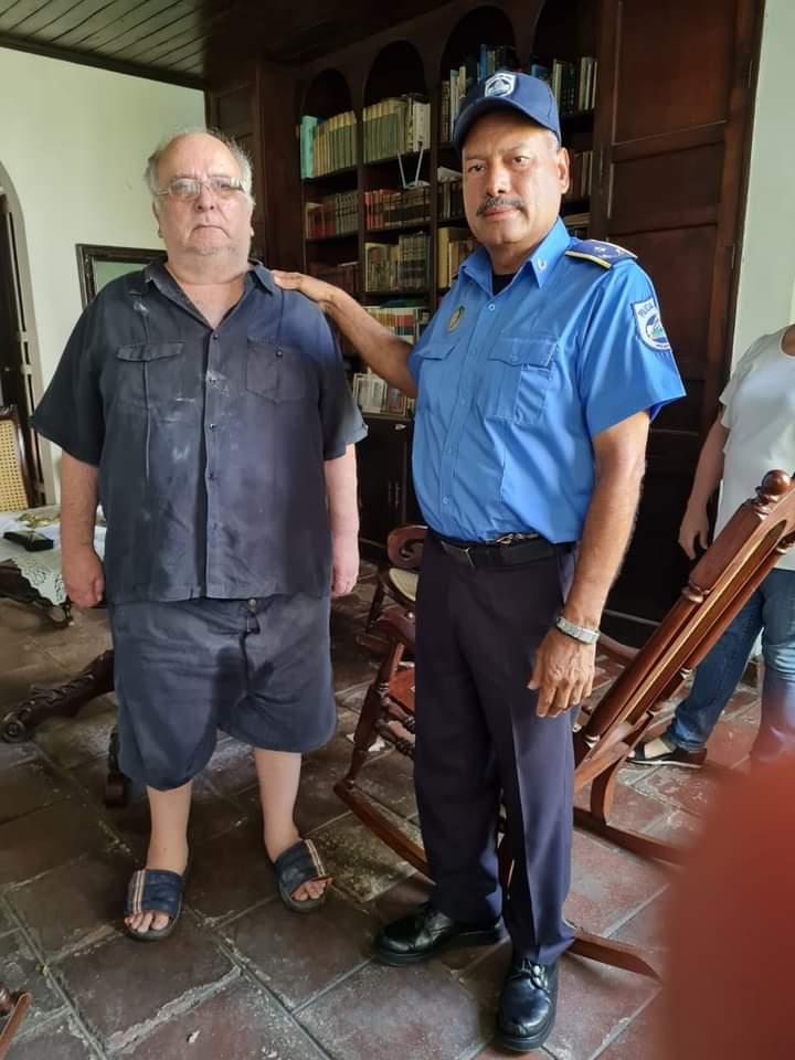 Detienen a José Pallais por atentar contra la patria Managua. Radio La Primerisima