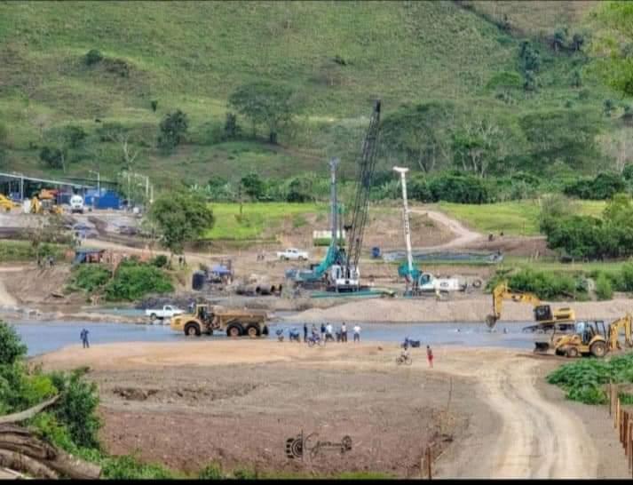 Avanza construcción de puente en Wiwilí Managua. Radio La Primerísima