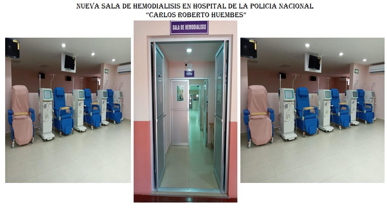 Hospital de la policía cuenta con nueva sala de hemodiálisis Managua. Radio La Primerísima