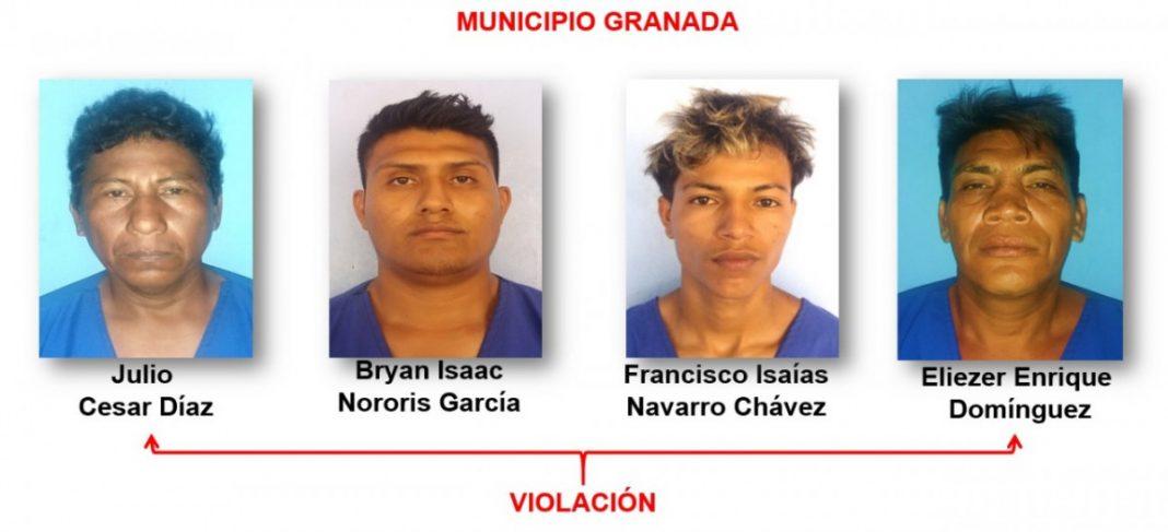 Tras las rejas 13 delincuentes en Granada Managua. Radio La Primerisima