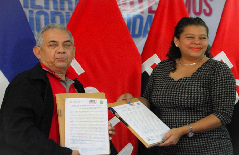 Univeridad Agraria firma convenio con el MARENA Managua. Radio La Primerisima