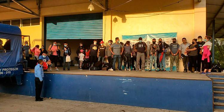 Honduras retorna a 26 nicaragüenses a su país de origen Tegucigalpa. La Tribuna