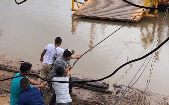 Suspenden operaciones de barcaza por el río Wawa Boom Managua. La Primerísima