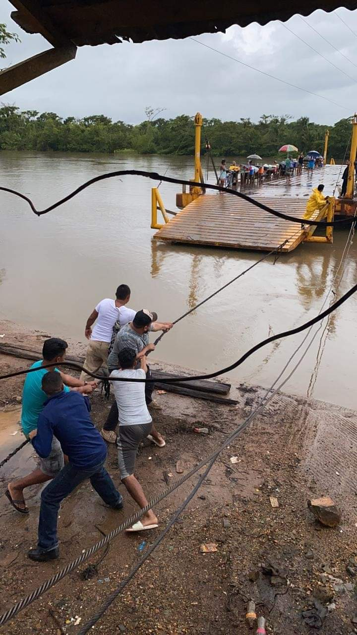 Bilwi y Waspam aislados por tierra debido a la crecida del río Wawa Boom Managua. La Primerísima
