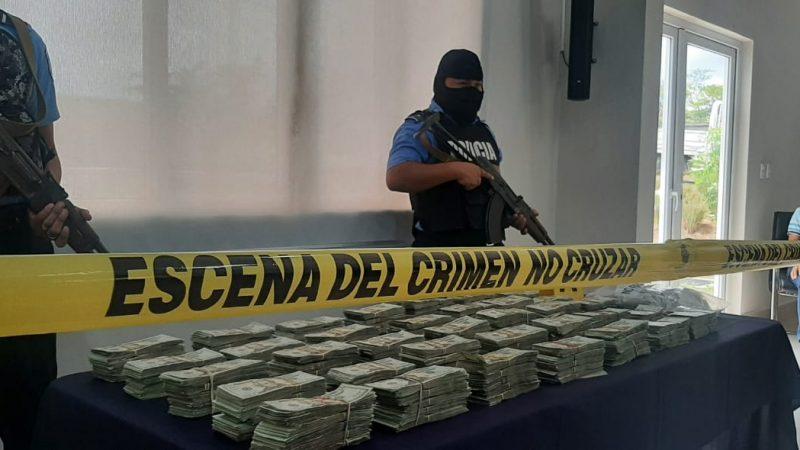 Incautan más de 400 mil dólares al crimen organizado Libeth González/ Radio La Primerísima