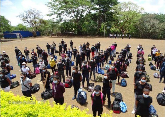 Más de mil jóvenes aspiran a convertirse en policías Managua. Radio La Primerísima