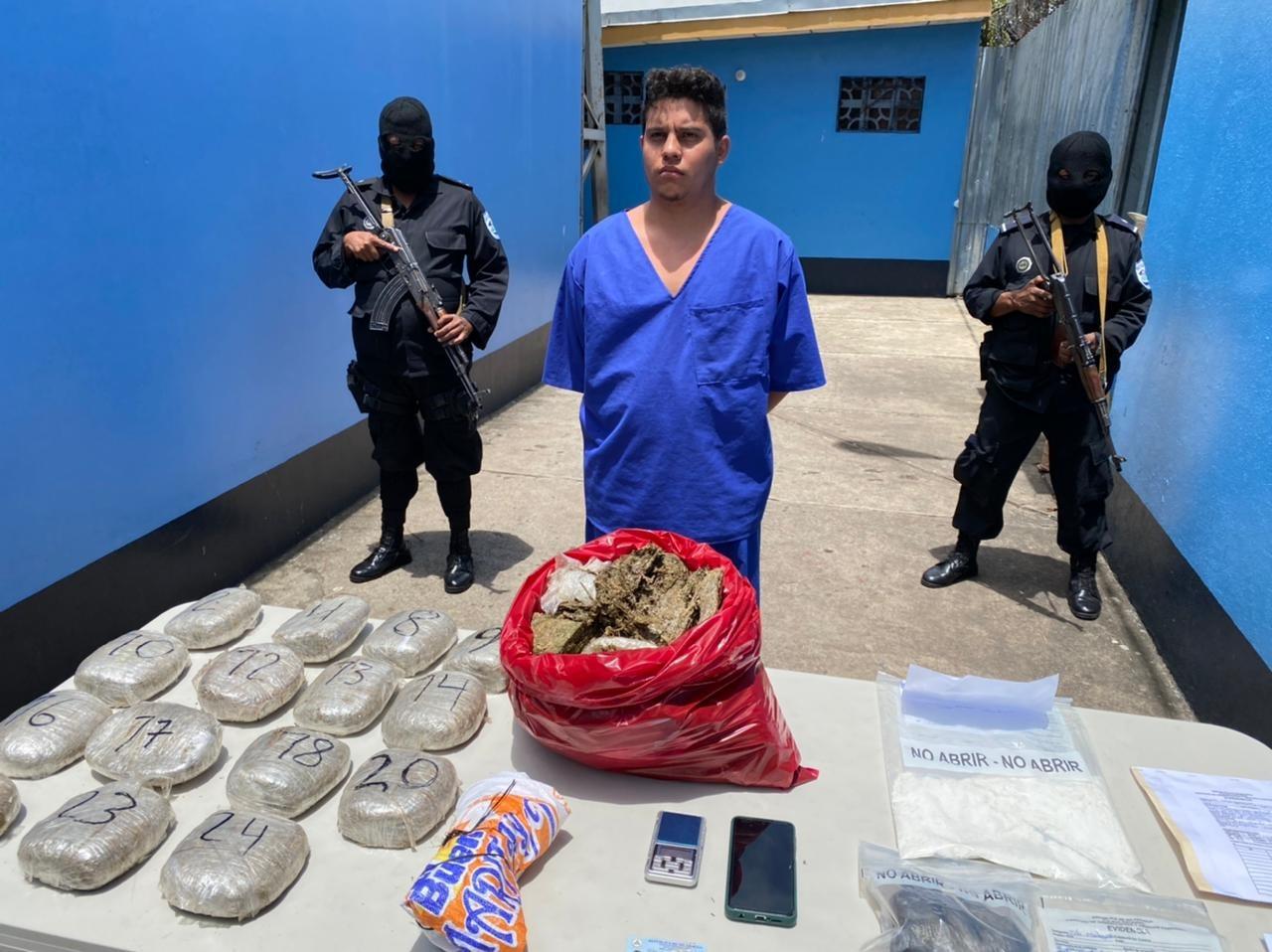Ocupan marihuana y cocaína a matagalpino Jerson Dumas/ Radio La Primerísima