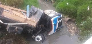 Vuelco de camión deja 3 lesionados en el Caribe Sur Managua. Radio La Primerísima