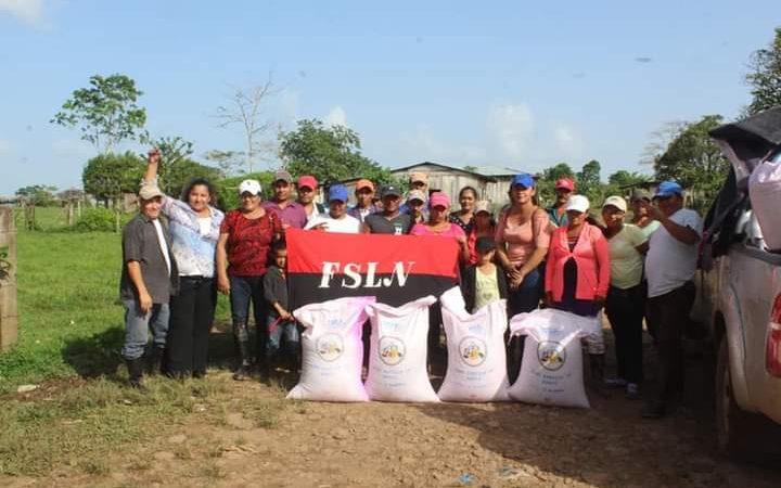 Productores de El Tortuguero reciben semillas de arroz Managua. Radio La Primerísima