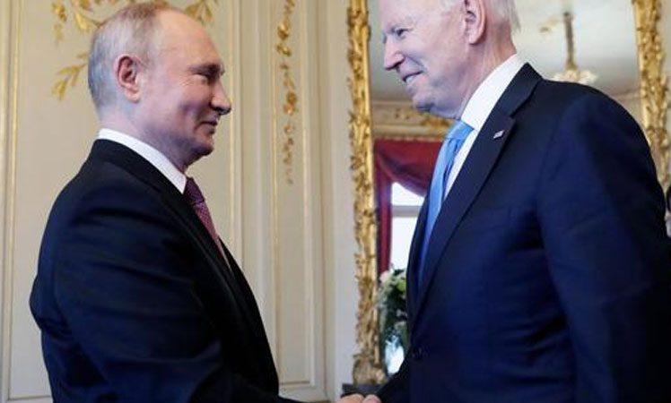 Putin y Biden reunidos en Ginebra, Suiza Prensa Latina