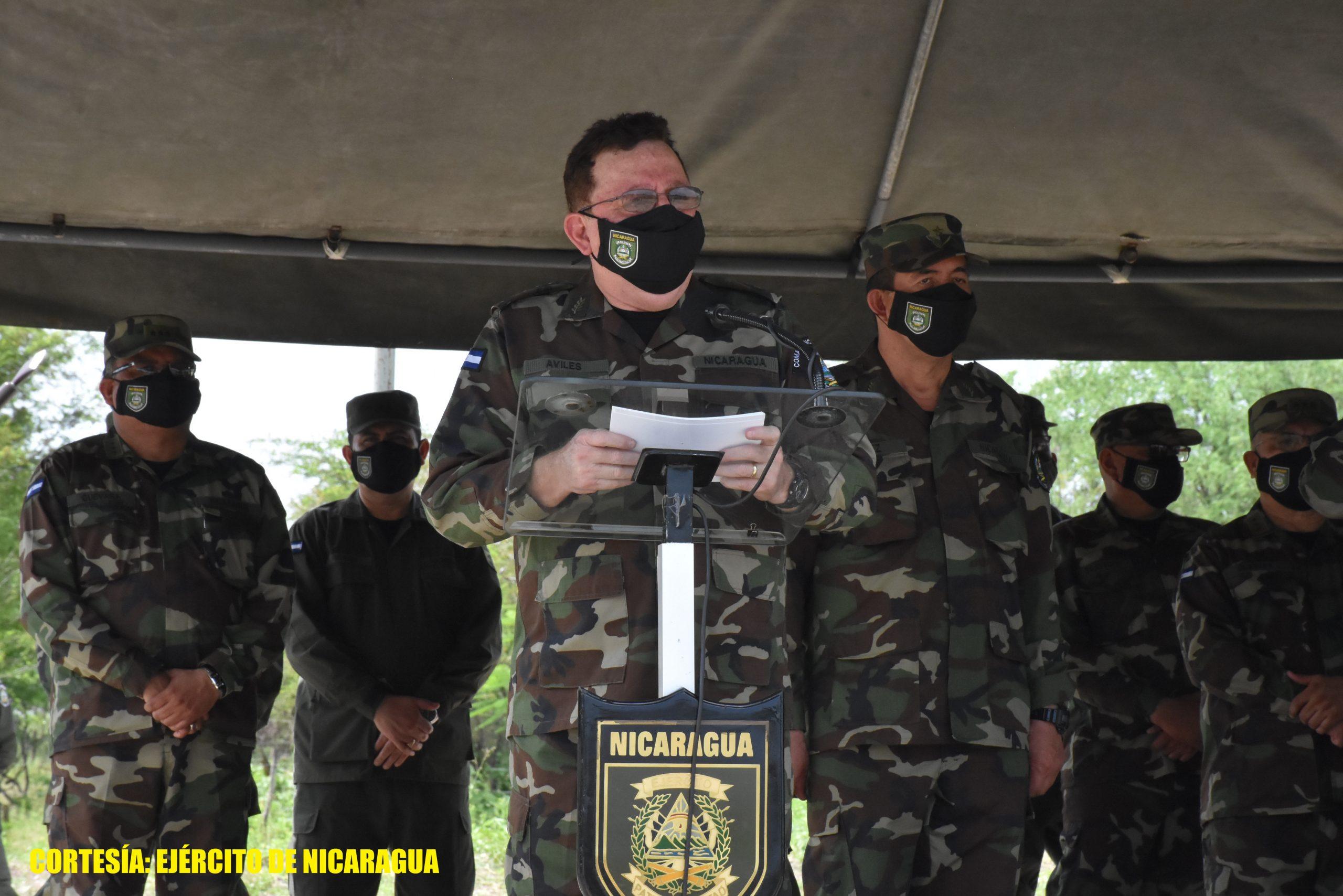 Militares clausuran ciclos de preparación combativa Managua. Radio La Primerísima