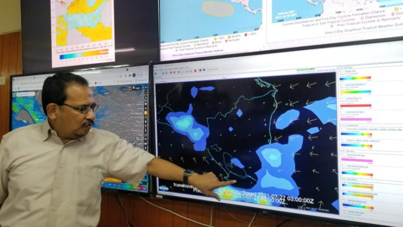 Ondas tropicales generarán más lluvias en Nicaragua Danielka Ruiz. Radio La Primerísima