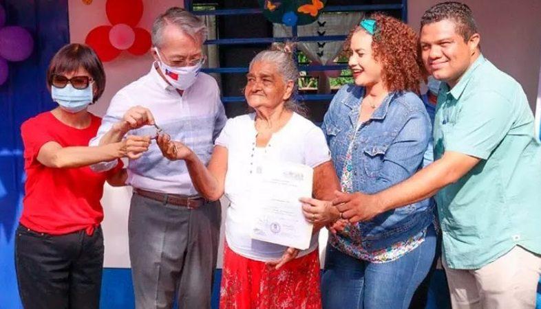 Suman 22 las viviendas entregadas en barrio Laureles Sur Managua. Radio La Primerísima