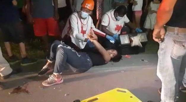 Brasileño atropella a motociclistas en Rivas Managua. Radio La Primerísima